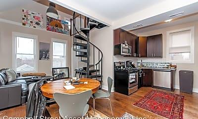 Kitchen, 1334 W 18h Place - 3F w/ loft, 0