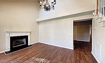 Living Room, 117 Homestead Place, 1
