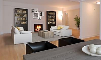 Living Room, 40 Central Park S 10HI, 1