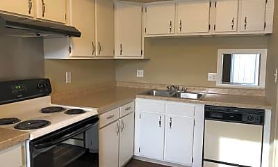 Kitchen, Ashbury Apartments, 0