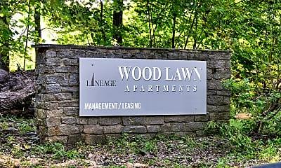 Community Signage, Woodlawn Apartments, 0