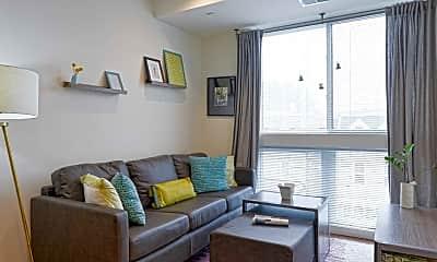 Living Room, Good Food Flats, 1