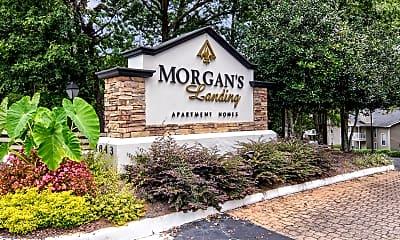 Community Signage, Morgan's Landing, 2