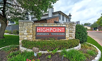 Community Signage, Highpoint Townhomes, 0