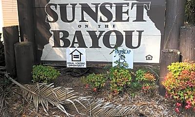 Sunset On The Bayou, 1
