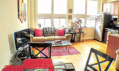 Living Room, 526 S 3rd St 3F, 1