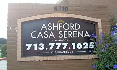 Casa Serena, 1
