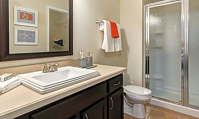 Bathroom, Kenyon Square Apartments, 2