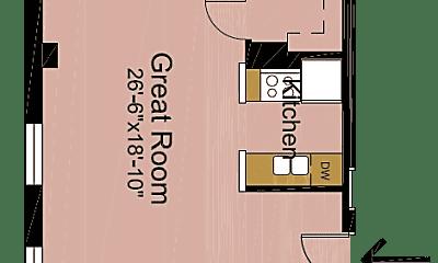 Bedroom, 604 S 3rd St, 2