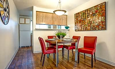 Dining Room, Sunset Park Apartments, 0