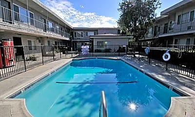 Pool, Royal Villa Apartments, 1