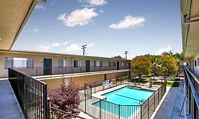 Pool, Saturn Apartments, 1