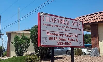Chaparral Apartments, 1