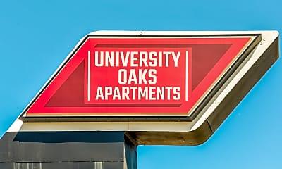 Community Signage, University Oaks, 2
