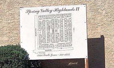 Spring Valley Highlands II & III, 1