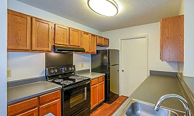 Kitchen, Retreat on Lake Lynn, 1
