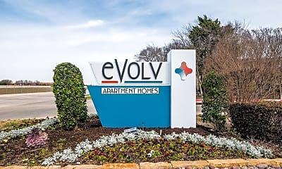 Community Signage, Evolv, 2