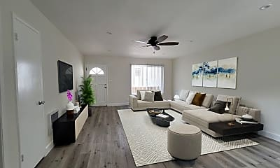 Living Room, 1436 Centinela Ave, 0