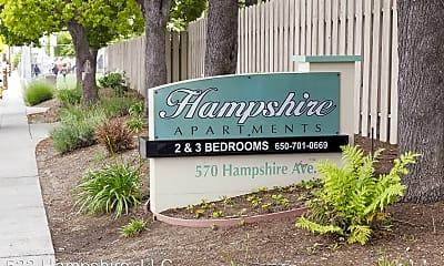 Community Signage, 570 Hampshire Avenue, 0