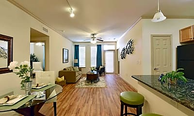 Living Room, SPRING TRACE SENIOR APARTMENTS, 1
