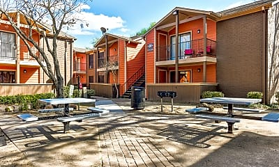 Courtyard, Urban Palms, 1