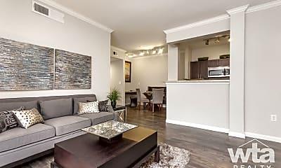 Living Room, 10015 Lake Creek Pkwy, 1