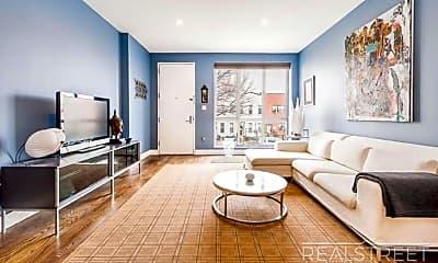 Living Room, 1750 Dean St, 0