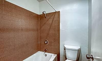 Bathroom, Pinewood Apartments, 2
