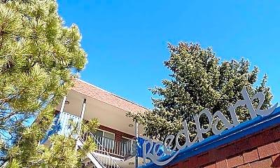 Community Signage, Reed Park Apartments, 1