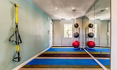 Fitness Weight Room, Sky at P83, 2