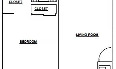 Bedroom, 212 Locust St, 2