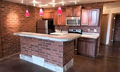 Kitchen, Springfield Loft Apartments, 1