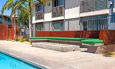 Pool, The Circle Apartments, 2