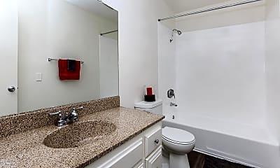 Bathroom, Camino, Pueblo & El Rancho Apartment Homes, 2