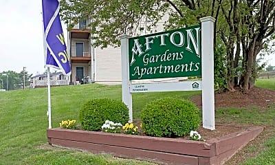 Community Signage, Afton Gardens, 2