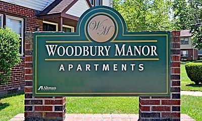 Community Signage, Woodbury Manor Townhomes, 2