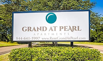 Community Signage, Grand at Pearl, 2