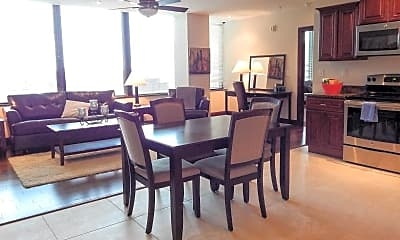 Dining Room, Gallery 515 Luxury Apartments @ The Millennium Center, 1