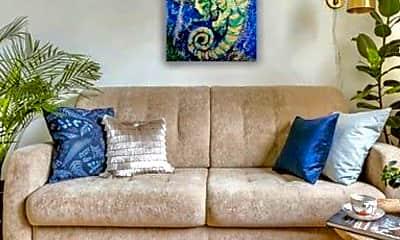 Living Room, 6507 & 6510 Ocean Crest Drive, 1