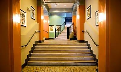 Foyer, Entryway, 2101 Church Street Apartments, 1