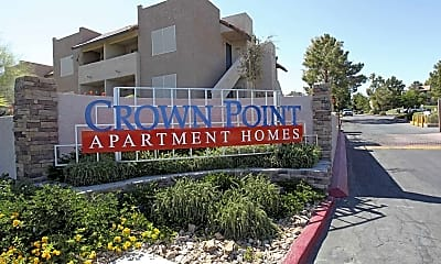Landscaping, Crown Point Apartments, 2