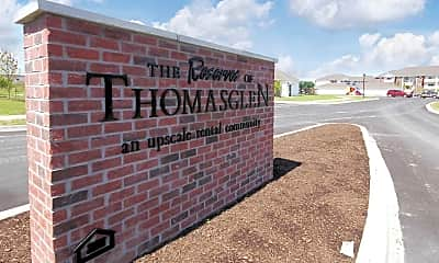 Community Signage, The Reserves of Thomas Glen, 2