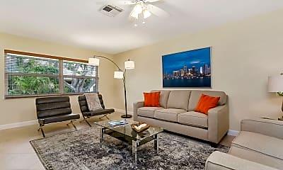 Living Room, 1119 Highland Beach Dr 2, 1
