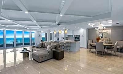 Living Room, 700 Ocean Royale, 1