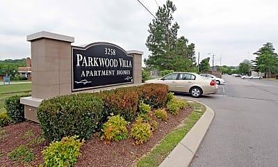 Community Signage, Parkwood Villa and Terrace Park Apartments, 1