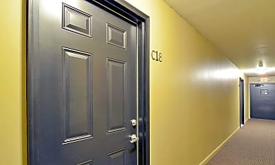 Foyer, Entryway, Cambridge Apartments, 1