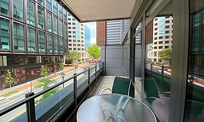 Patio / Deck, 7171 Woodmont Ave 203, 2