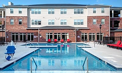 Pool, The Reserve At Greensboro - Per Bed Lease, 0