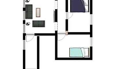 Building, 431 Tompkins St, 1