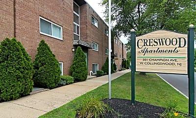 Community Signage, Creswood Apartments, 2